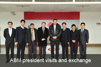 ABM president visit our company