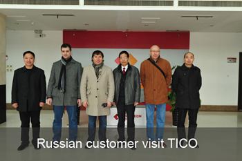 Russian customers visit TICO